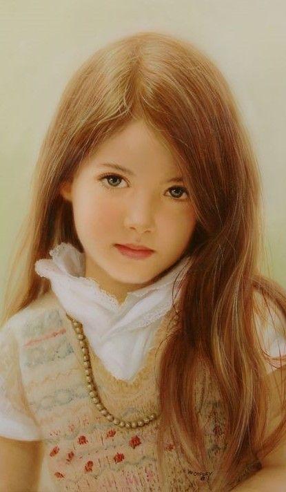 "Award Winning Oil Painting - ""Innocence"" by Ed Copley"