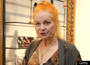 Her own woman, Vivienne Westwood.
