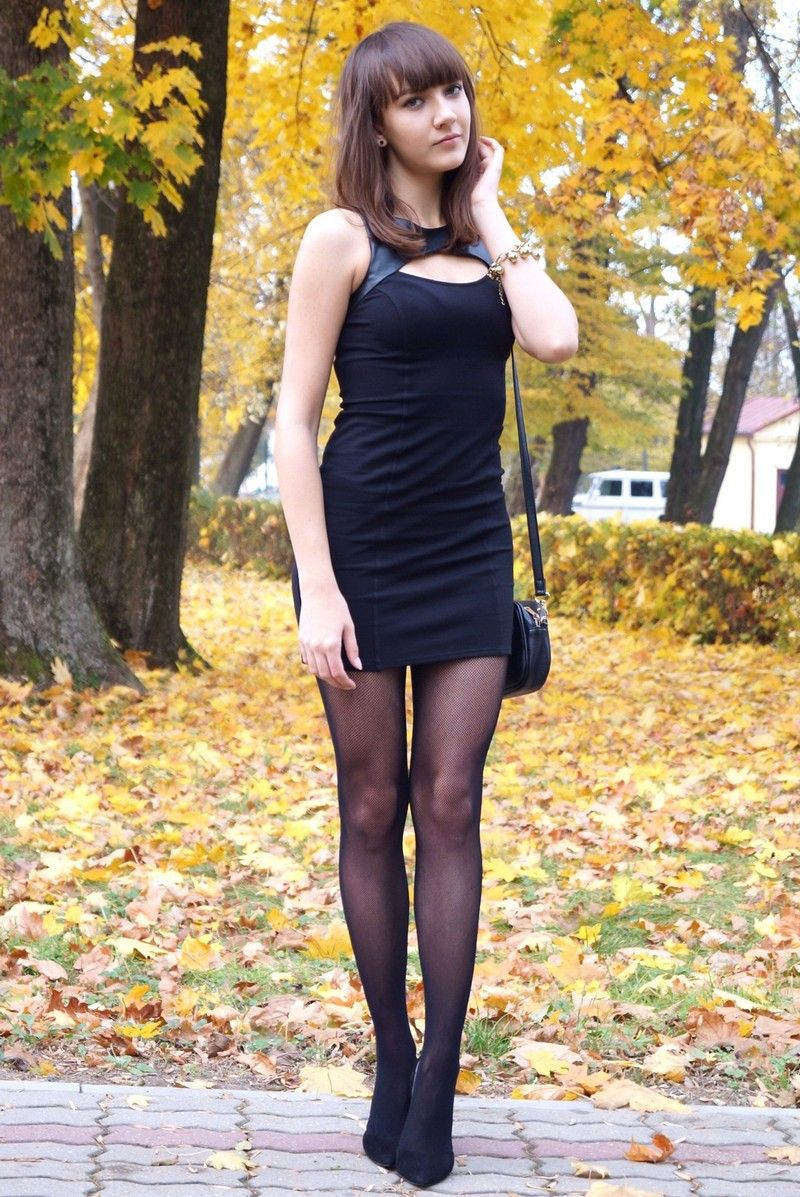 Little Black Dress  Fashion Camille  Supershortskirts -7289