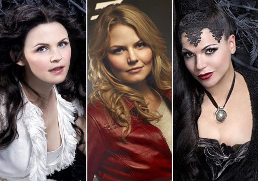 Snow White, Emma, and the Evil Queen.  I love this show :D