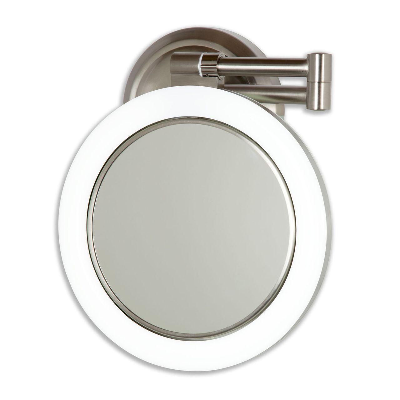 Dual-Sided Swivel Wall Mount Mirror 10X/1X | Wall mounted ...