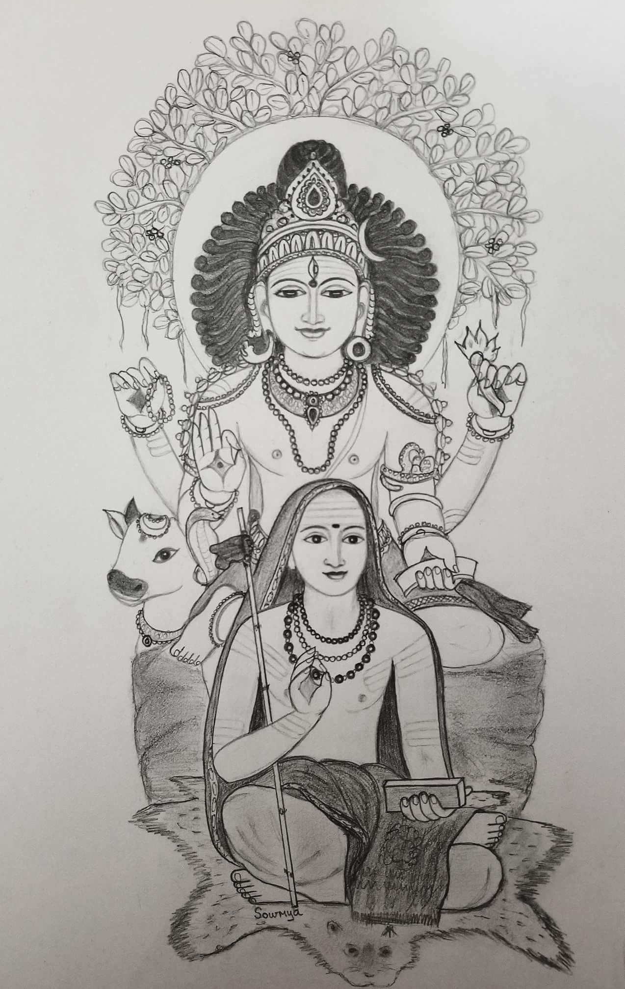 Pin by bala murugan on art art sketches tanjore painting pencil