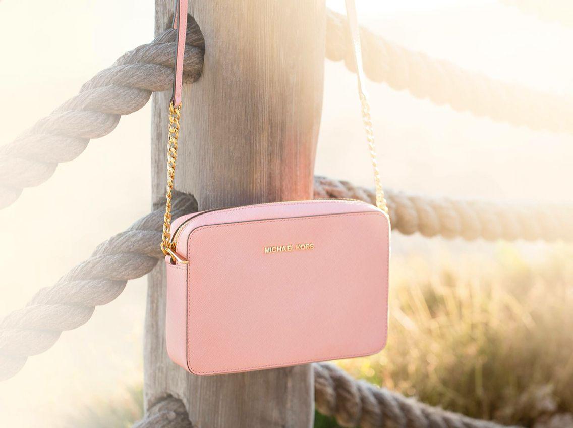 96f5f4aa341fe2 Cute light pink MK purse | mk | Handbags michael kors, Cheap mk bags ...