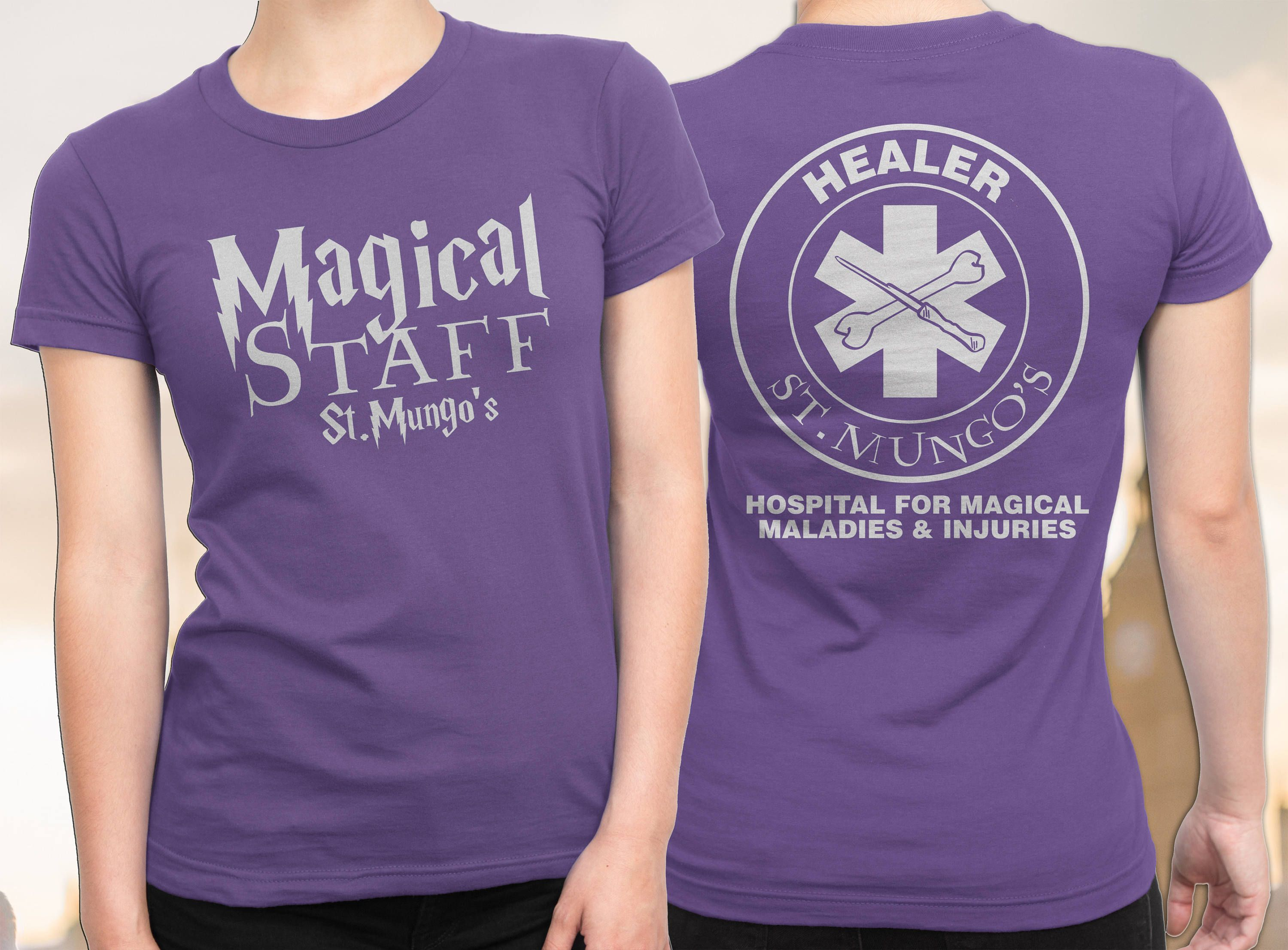 Harry Potter Doctor Free Shipping Nurse Harry Potter Shirt St Mungo S Hospital For Magical Maladies A Harry Potter Shirts Nursing Shirts Harry Potter Tshirt