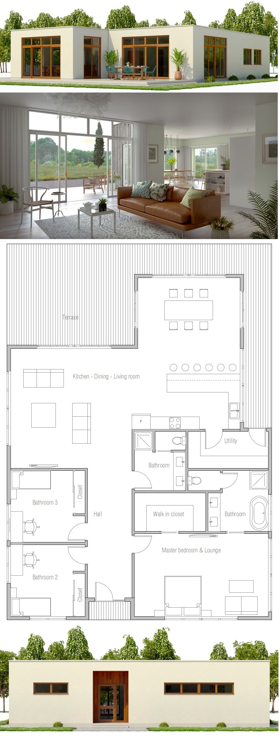 House plan ch also modern home masa madre pinterest and rh