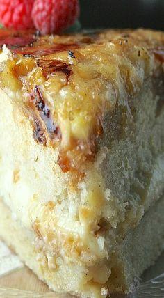 Creme Brûlée Cake #cremebrulée