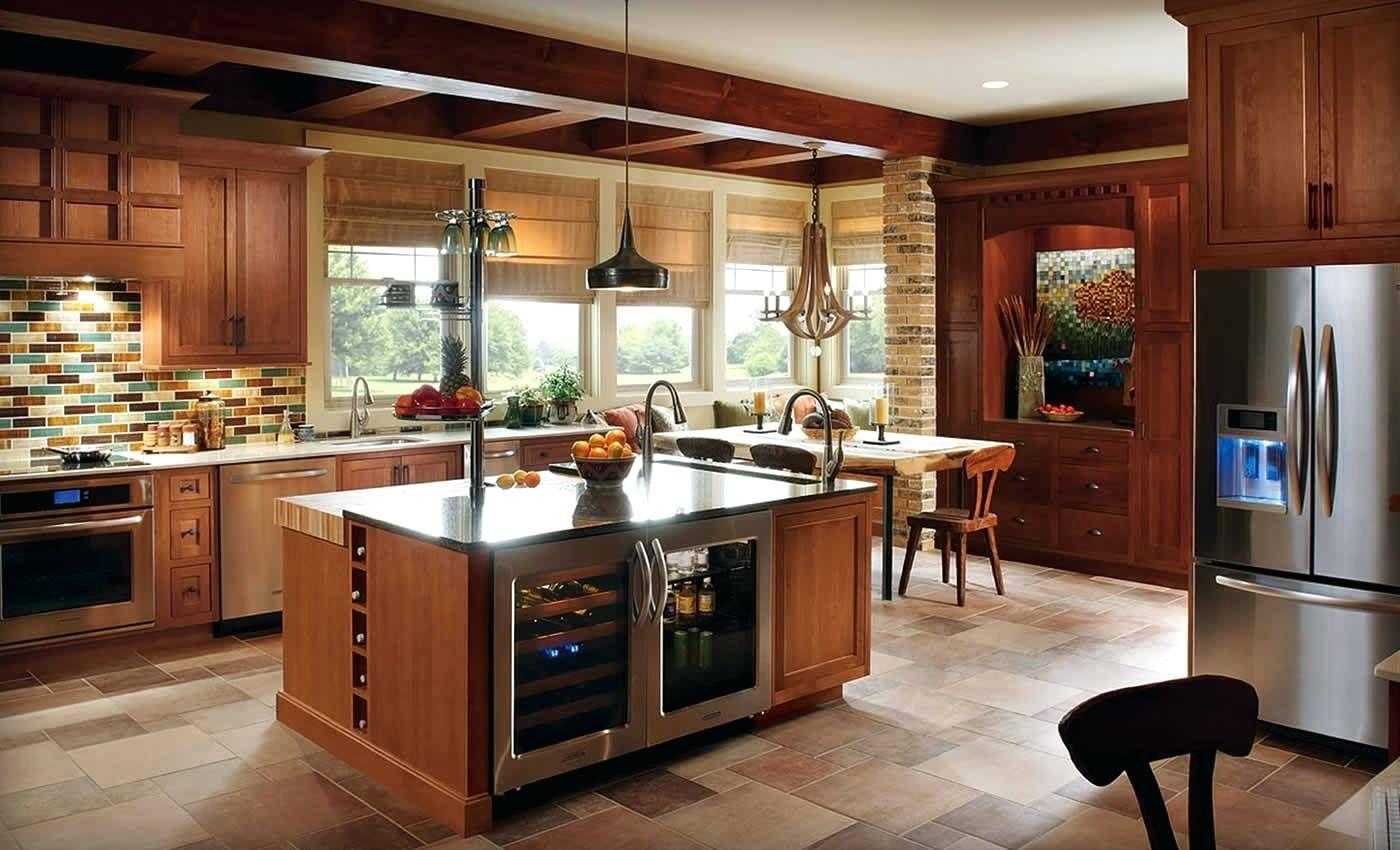 Nice Wine Storage Built Into The Island Dfw Realestate Semi Custom Kitchen Cabinets Online Kitchen Cabinets Kitchen Design