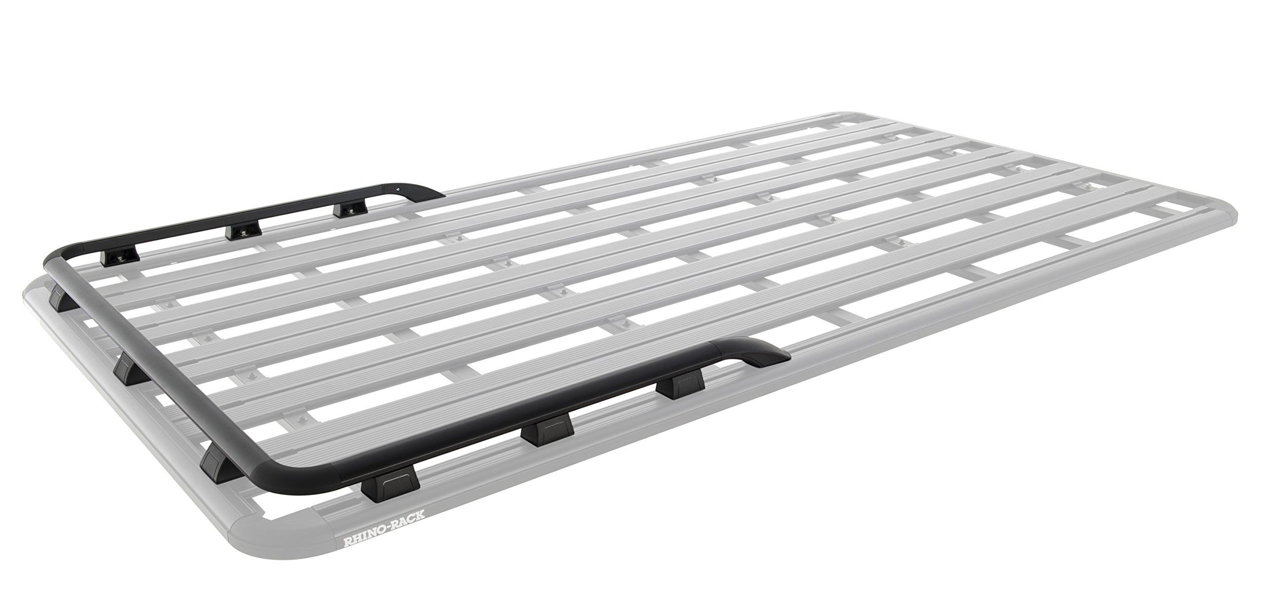 Rhino Rack 43161b Pioneer Platform Front Side Rails For Suit 42105b Car Racks Rails Rack