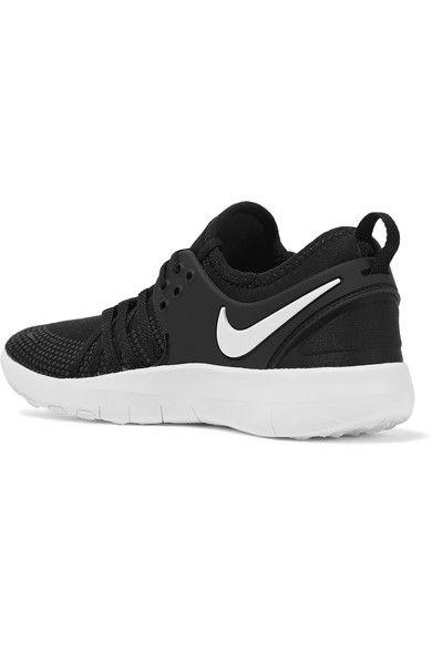 18df78633574d Nike - Free Tr 7 Mesh Sneakers - Black