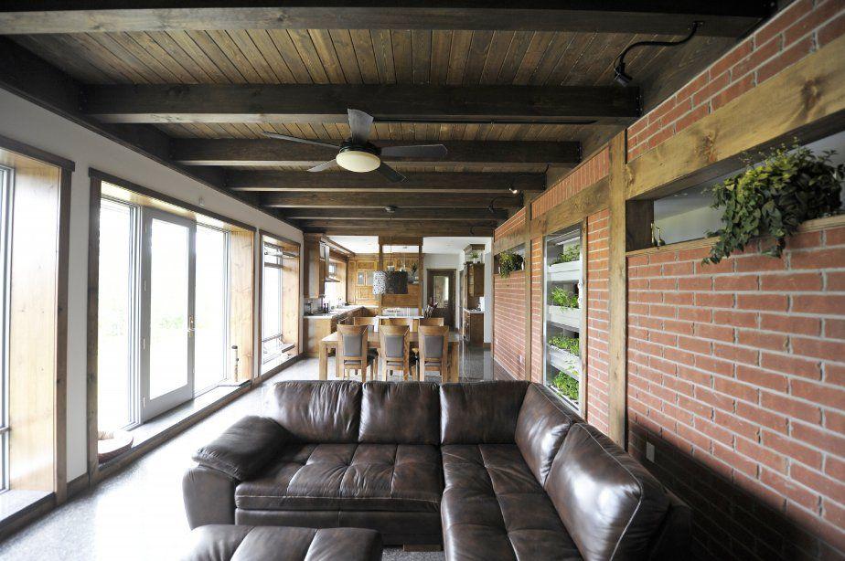 Écologique jusqu\u0027au bout du toit, capable de se chauffer elle-même