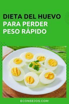 Dieta del huevo: ¡Increíble, adelgaza 1 kilos por día!