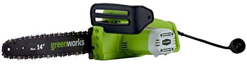 GreenWorks 20222 Corded 9-Amp Chainsaw, 14-Inch GreenWorks