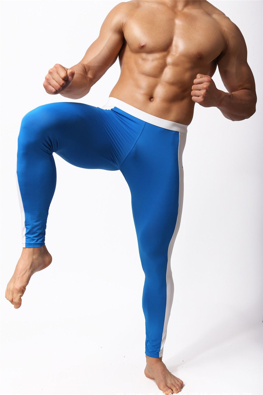 e813ca0edacb Mens Mesh See-thru Underwear Leggings with size chart | 500Stylesproducts |  Mens compression pants, Underwear, Pants
