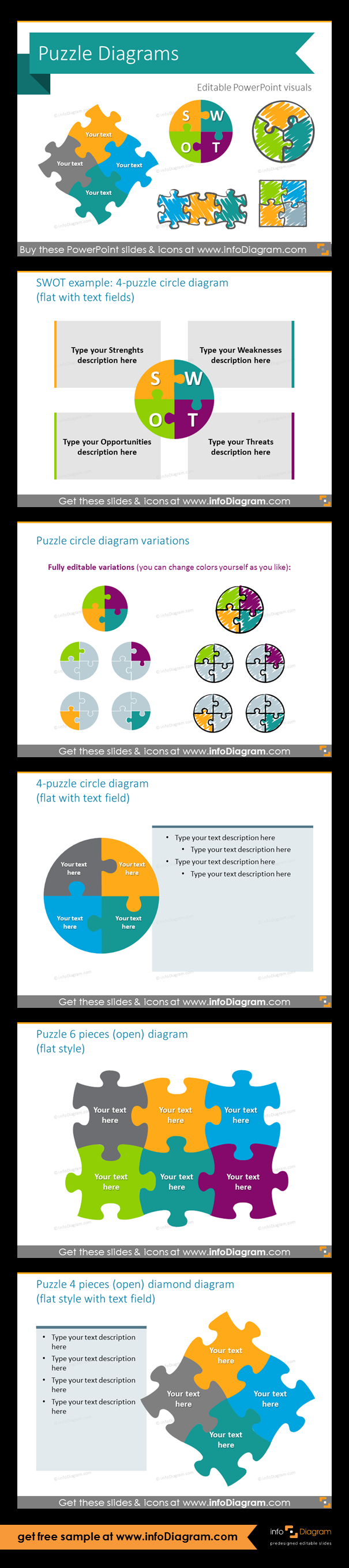 Jigsaw puzzle collection for integrity diagrams set of editable jigsaw puzzle collection for integrity diagrams set of editable graphical elements for powerpoint fully ccuart Gallery