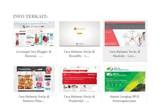 Baca Info Online Cara Membuat Related Post Terbaru Di Blogspot