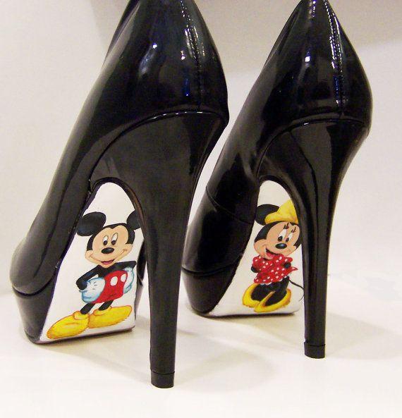 Mickey/Minnie Heelslove these