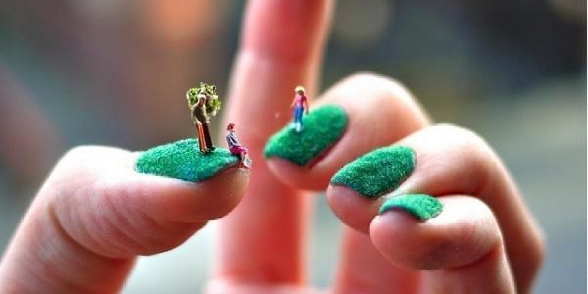 Coolest Nail Art Ever Cool Nail Art Crazy Nails 3d Nail Art