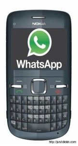 WhatsApp For Nokia Asha 200, 201, 202, 205, 206, 210, 300