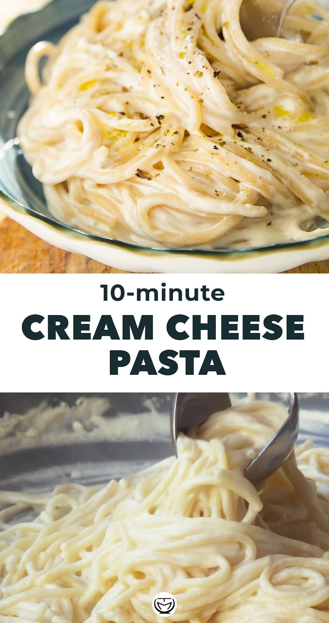 10-Minute Cream Cheese Pasta