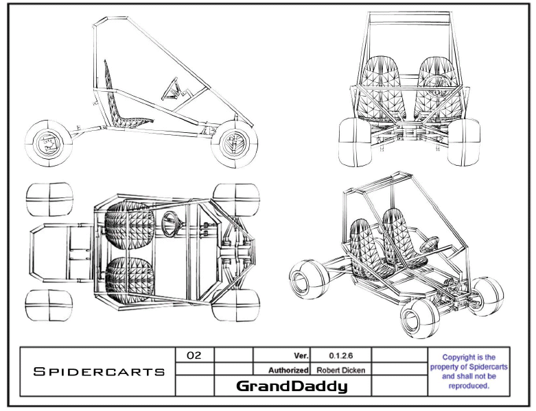 granddaddy go kart plans