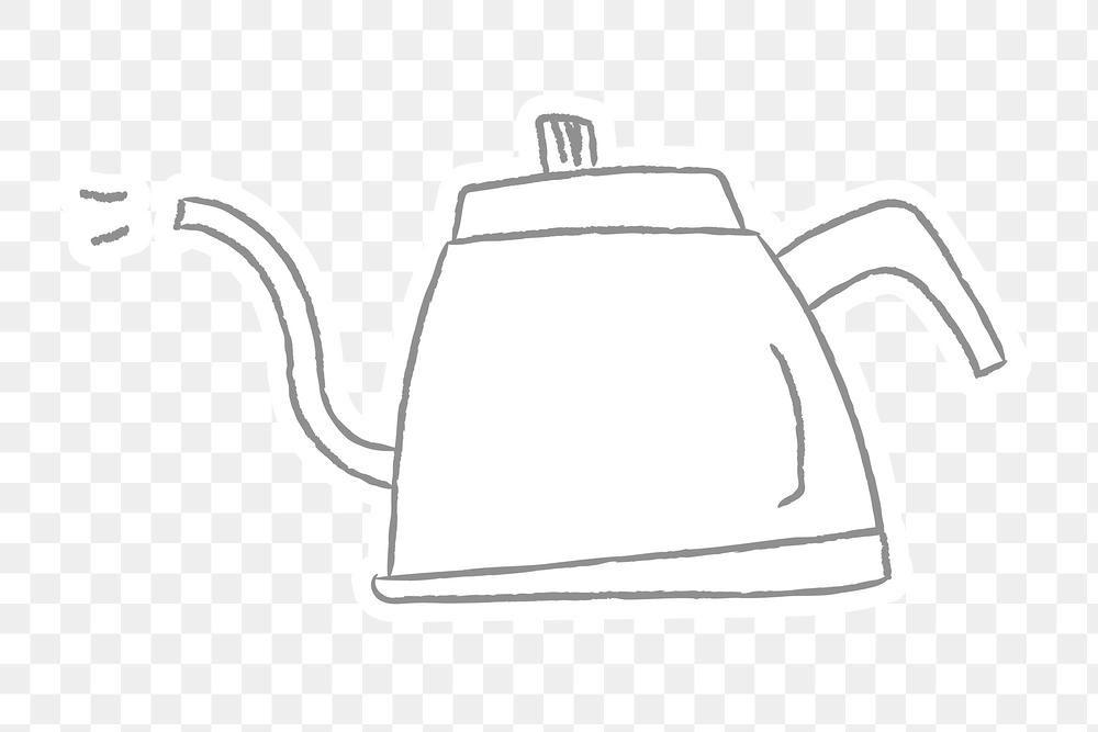 Doodle Style Coffee Pot Design Element Free Image By Rawpixel Com Wan Pot Designs Design Element Doodles