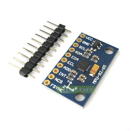 Gyro+Accelerator+Magnetometer Sensor 5PCS SPI//IIC MPU-9250 9-Axis Attitude