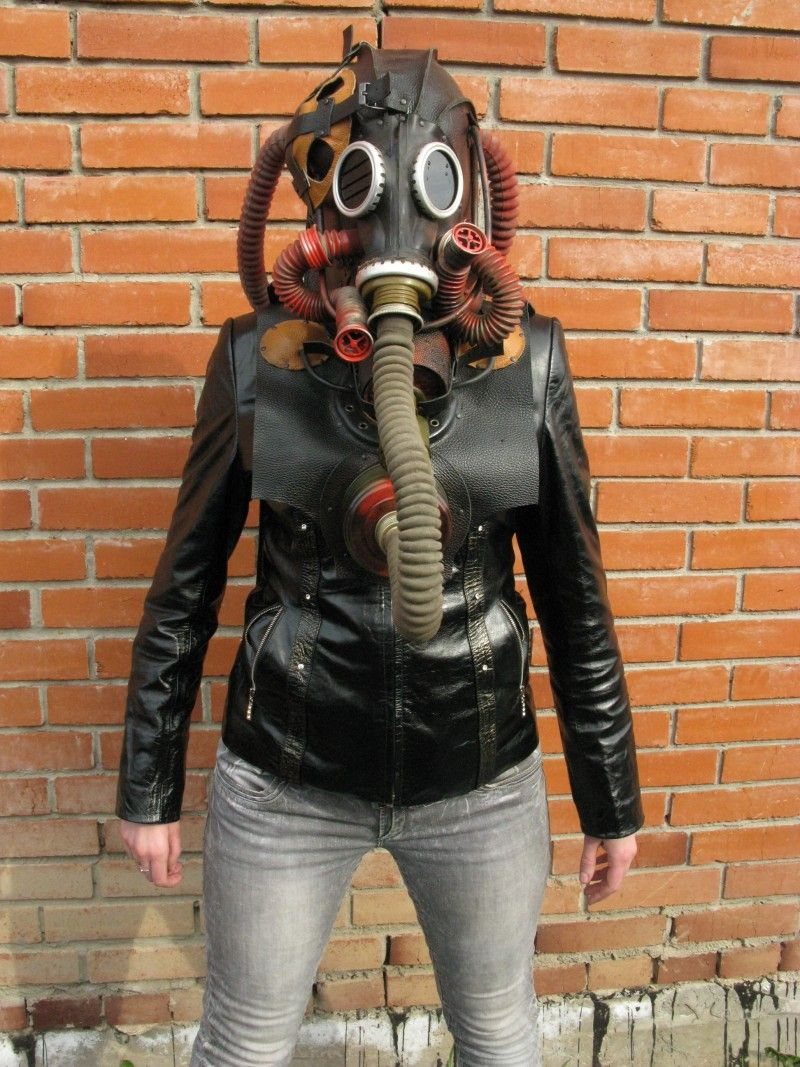 Sexy goggles leather Halloween Steampunk GAS MASKS for sale by ...