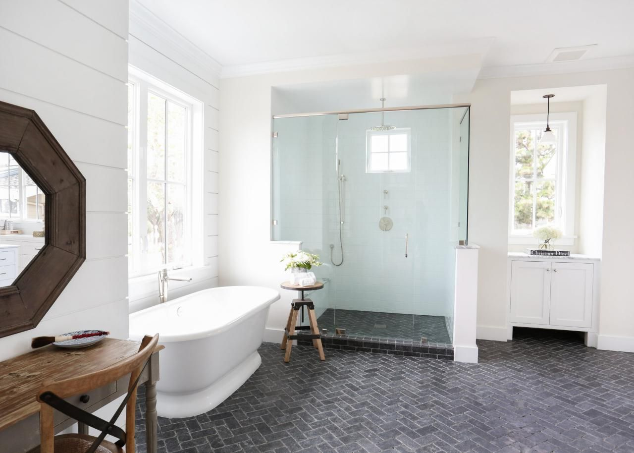 Arts and Crafts Bathrooms | Pinterest | Hgtv, Bath design and Bath