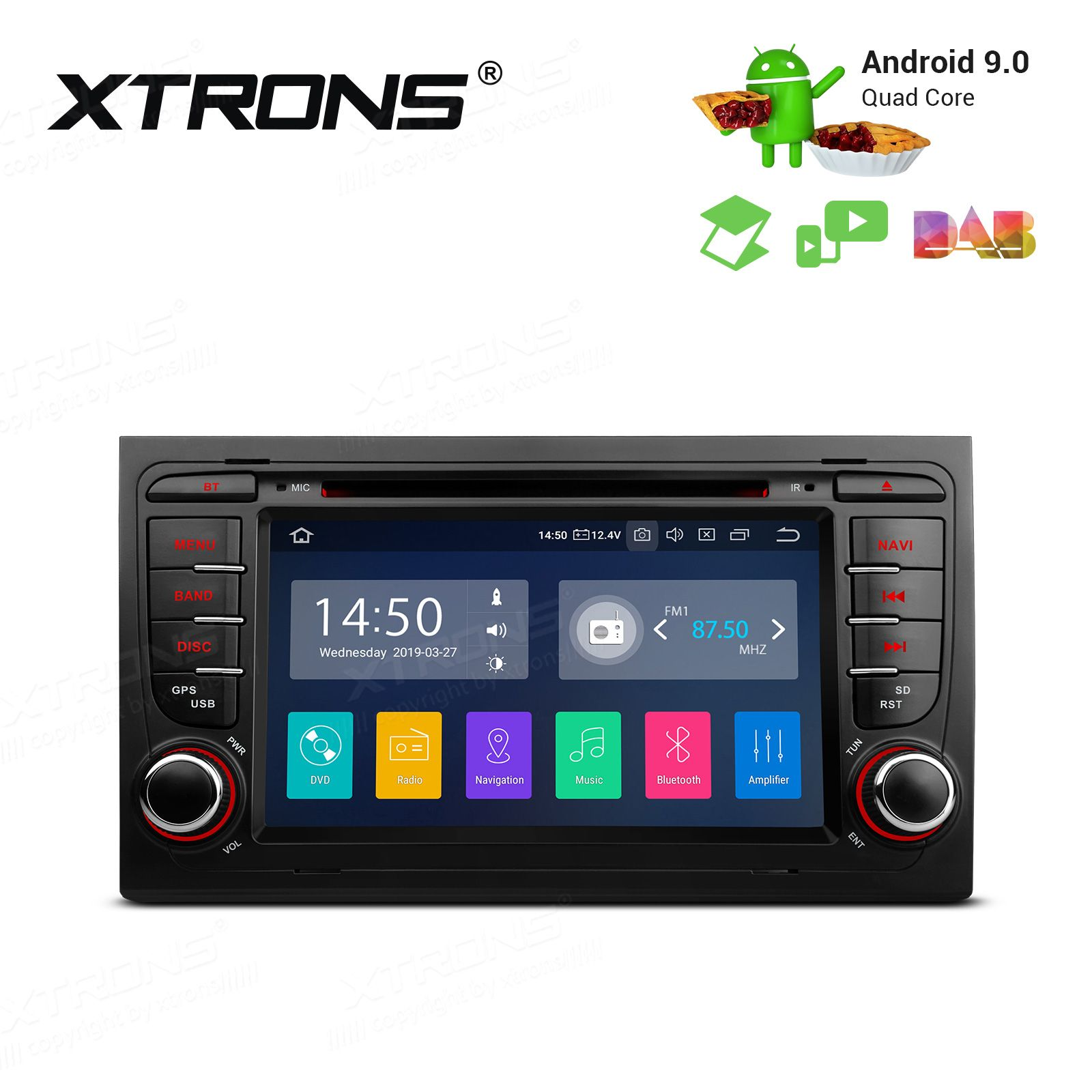 Audi Seat Various Android 9 0 Pa79aa4ip Android 9 Car Stereo Navigation System
