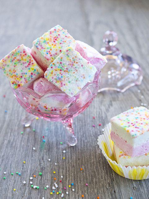 birthday cake marshmallows Marshmallow Birthday cakes and Birthdays