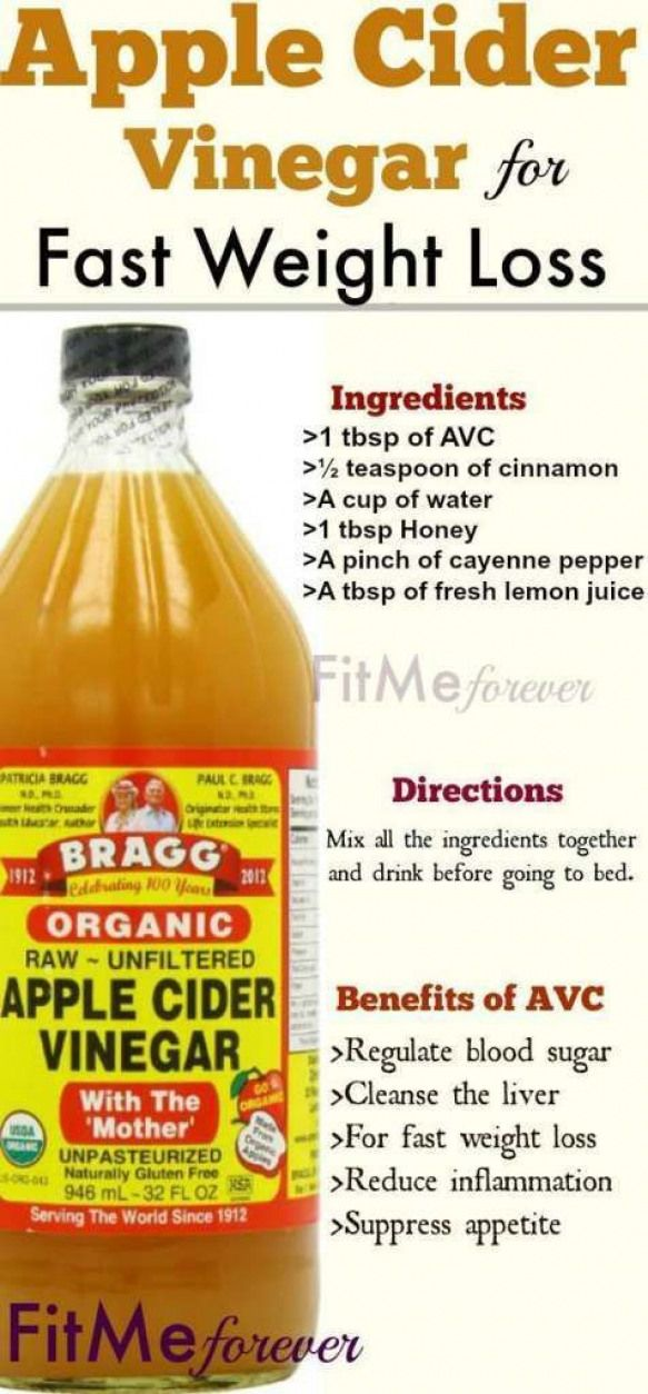 Apple Cider Vinegar Detox Drink Recipe Honey Cinnamon and