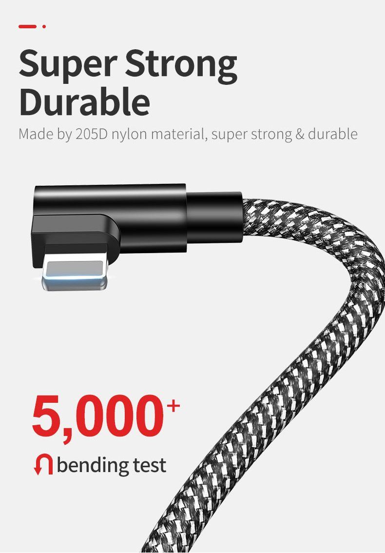 Fast charge data cables for iphone xxsmax mobile phone