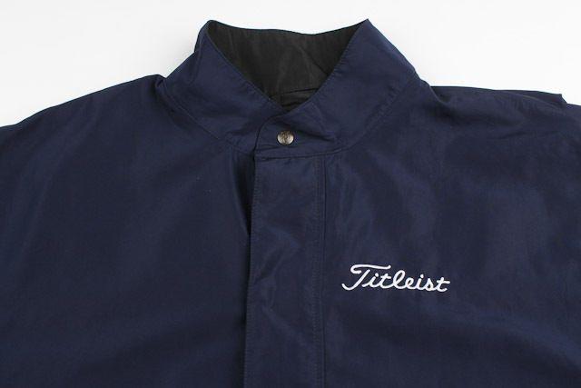13fa4c67af38a FOOTJOY Dryjoys Navy TITLEIST Medium mens Windbreaker Short Sleeve Jacket  #FootJoy #BasicJacket