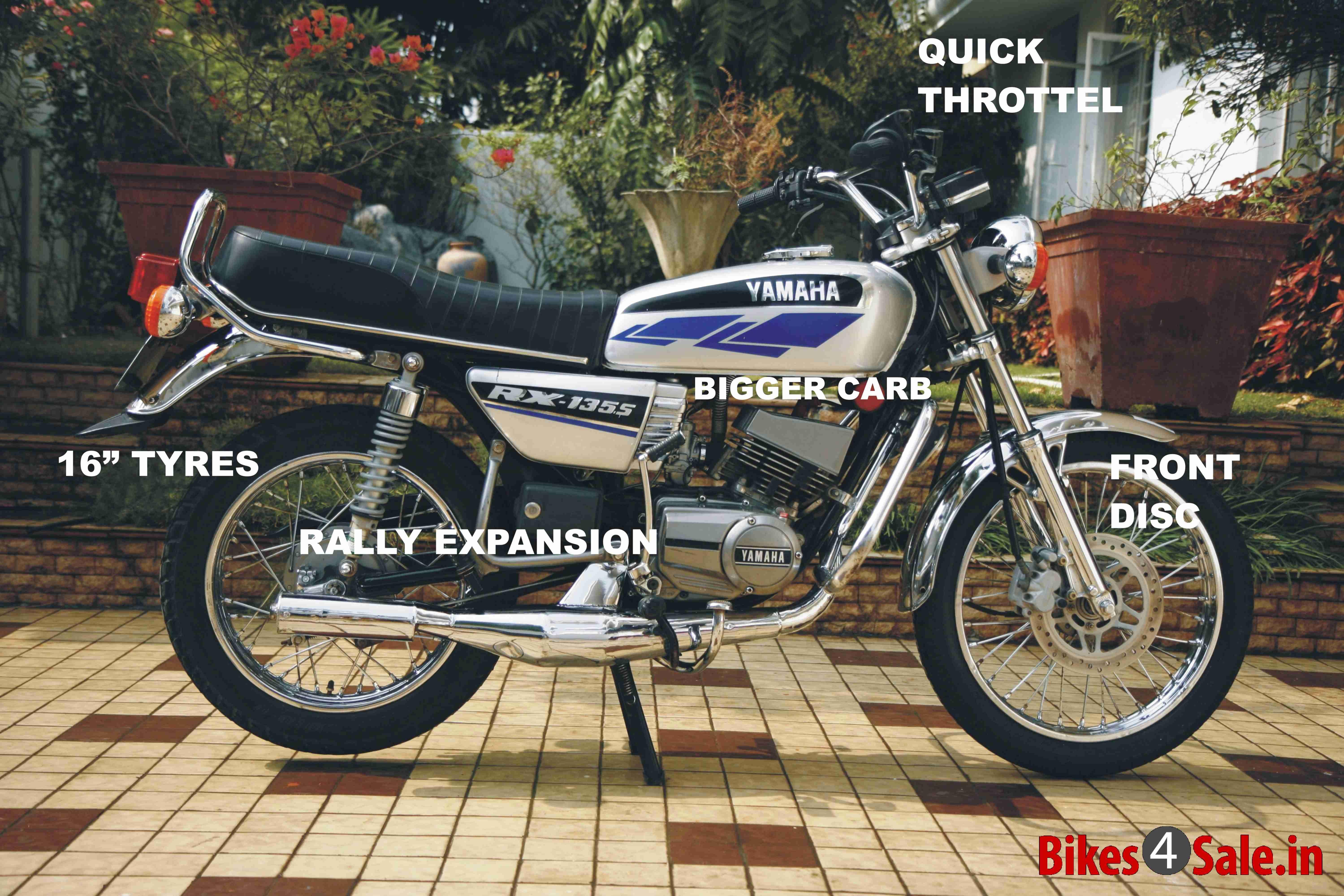 Yamaha Rx135 Motorcycle Yamaha Rx 135 Yamaha Bike Tank