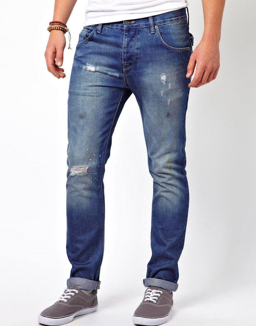 0e52583a8febb moda-pantalones-y-jeans-vaqueros -hombre-otono-invierno-2013-2014-tendencias-asos-slim