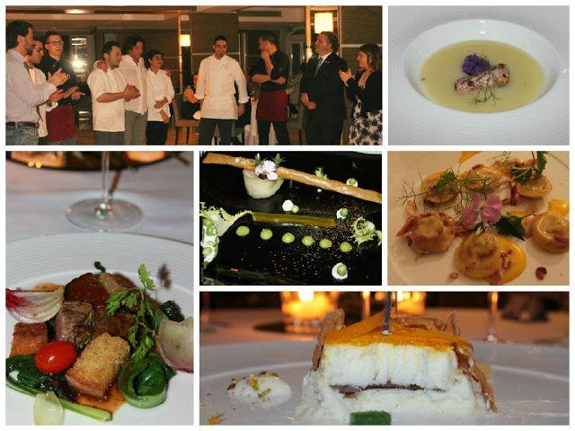 Degustazione preparata dallo chef Elia Russo al Villa Neri Resort&Spa di Linguaglossa