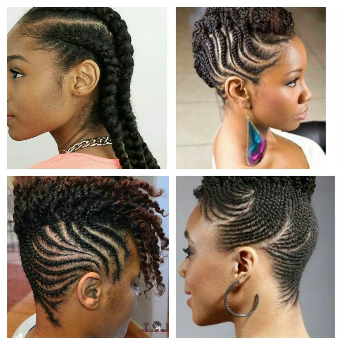 Simple Cornrow Styles For Natural Hair In 2020 Natural Hair Styles Hair Styles Natural Hair Braids