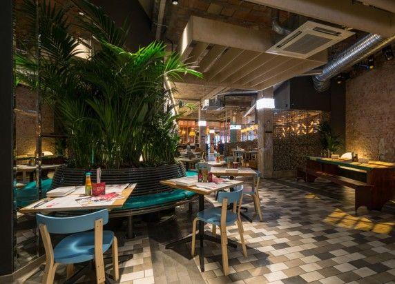 Bristol Pub Decor Wahaca Restaurant Design