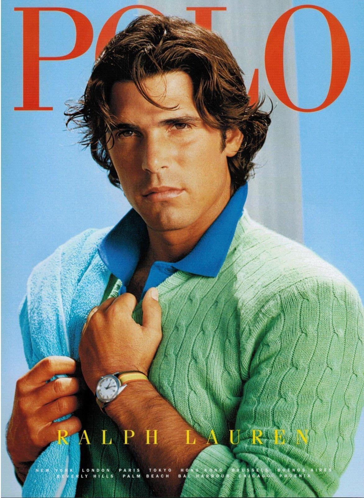 2003 Polo By Ralph Lauren Nacho Figueras Magazine Print Ad Ebay Polo Ralph Lauren Ralph Lauren Menswear Ralph Lauren