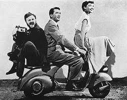 Vacanze Romane(1953) di William Wyler - Gregory Peck- Audrey Hepburn - William Wyler and Vespa #williamwyler