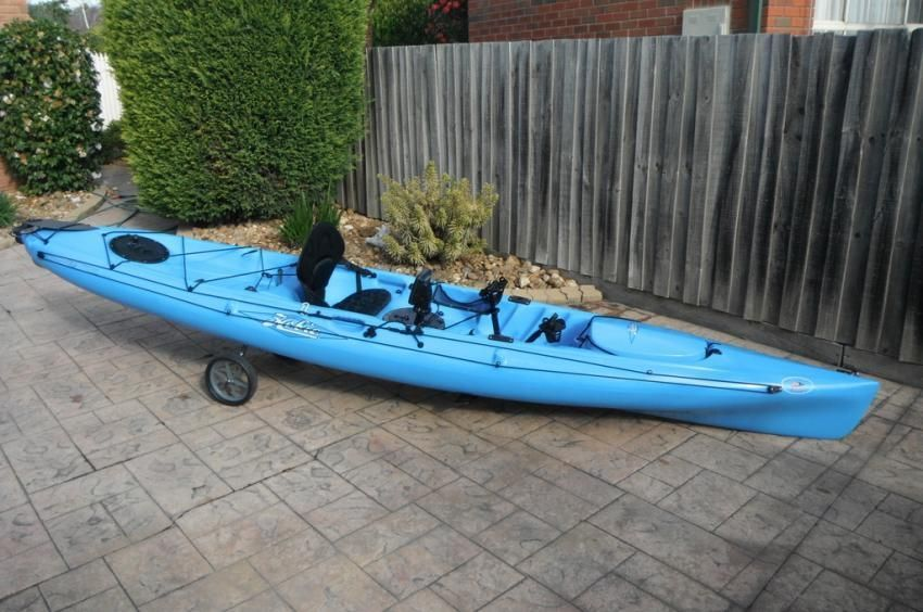 Hobie Mirage Revolution 13 Kayak Caribbean Blue Review Hobie