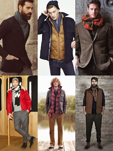 1a73ae31461 STYLE GUIDE for MEN  Winter Scarves! ADVICE at http   www.
