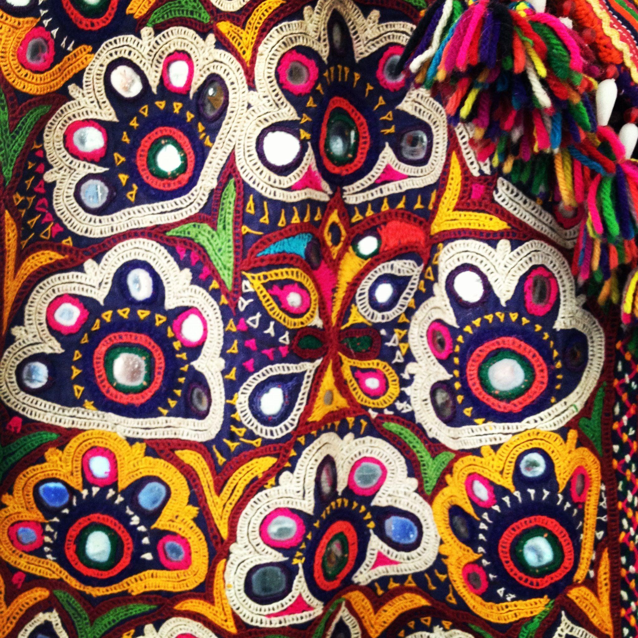 Embroidery kutch india pinterest