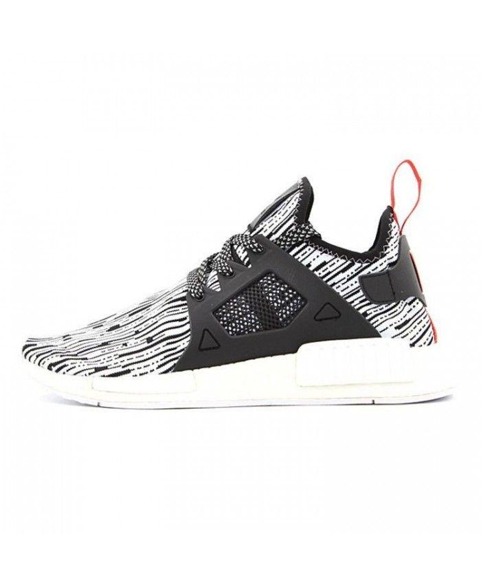 b631fdbef Adidas NMD XR1 Ftwr White Core Black Semi Solar Red Shoes S32216 ...