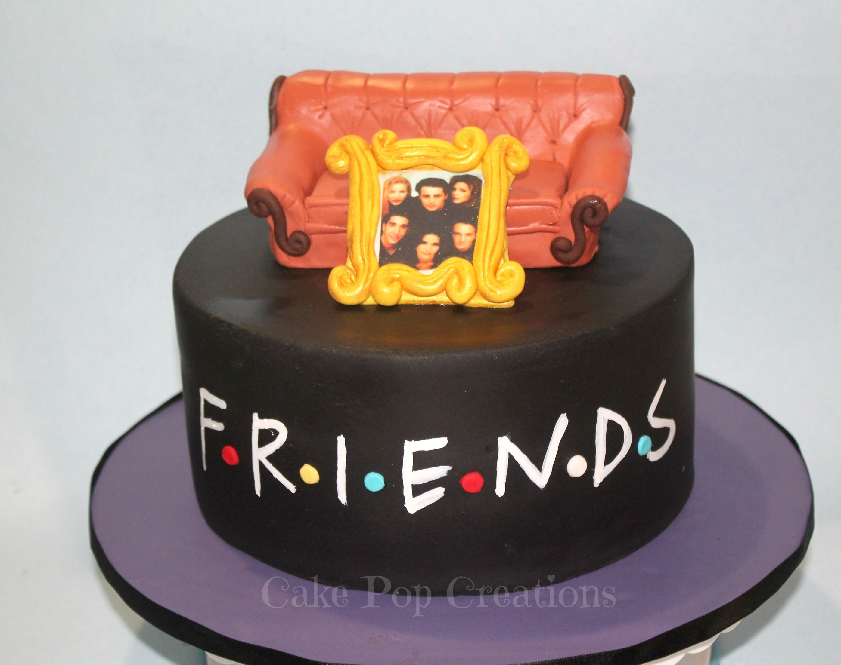 30 Awesome Friends Tv Show Themed Birthday Cakes Friends