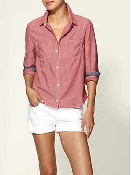 7 For All Mankind Chambray Shirt