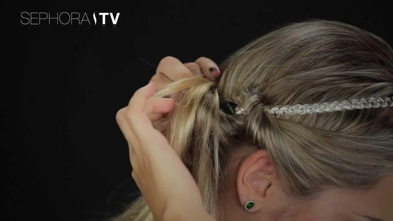 Tutorial de Penteado Sephora: Usando o Headband nos cabelos