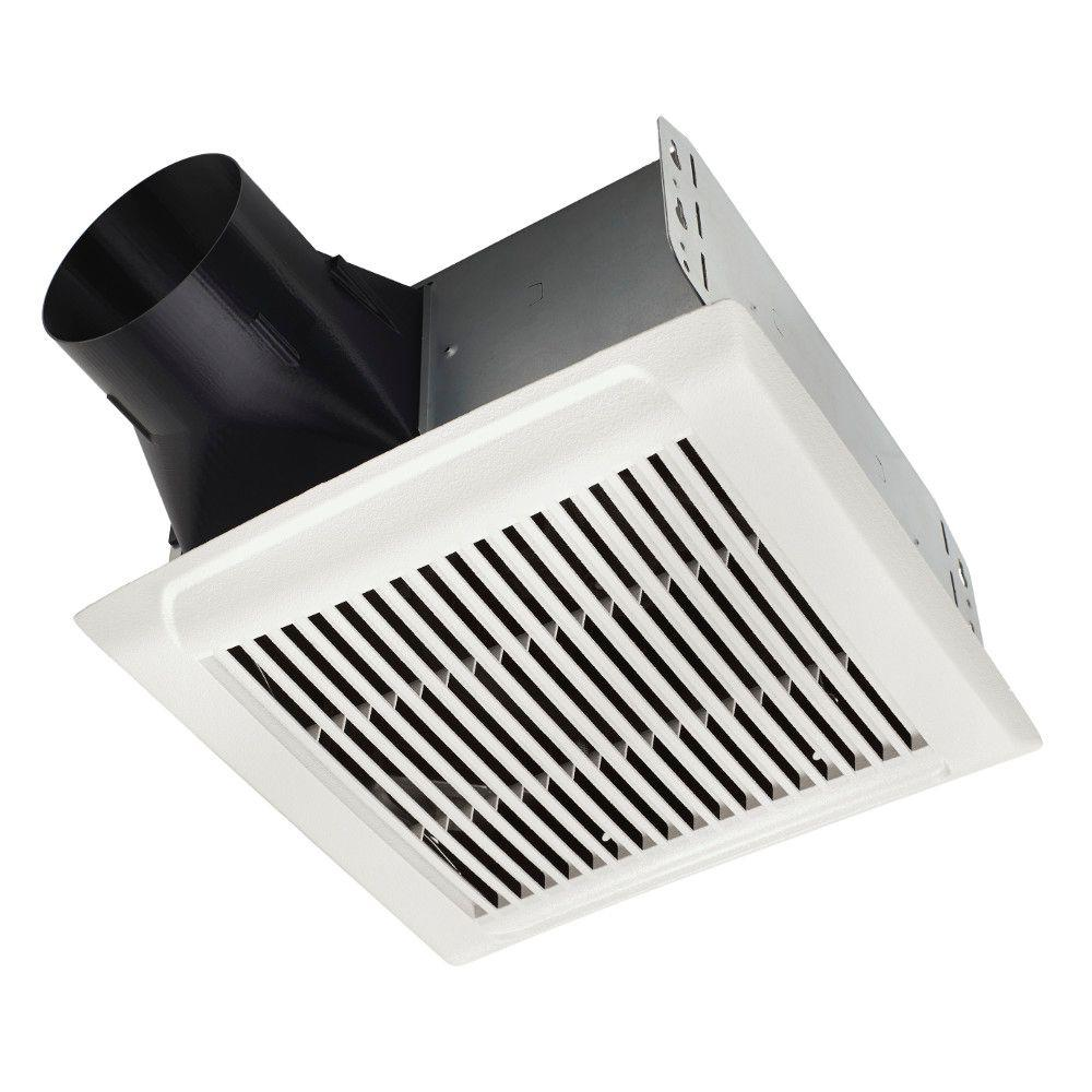Nutone Roomside Series 50 Cfm Ceiling Installation Bathroom Exhaust Fan Energy Star White Products Bathroom Exhaust Fan Ceiling Installation Energy St