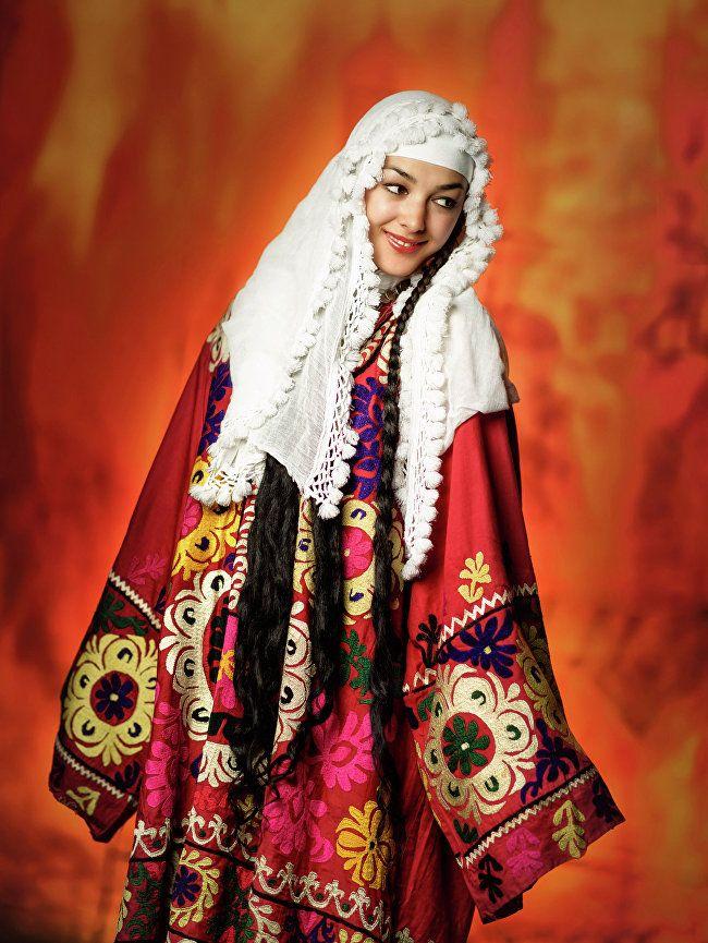 женская таджикская национальная одежда фото книжного блока сейчас