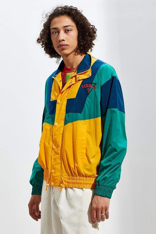 872ac5e3c GUESS X J Balvin Vibras Retro Windbreaker Jacket in 2019 | Products ...